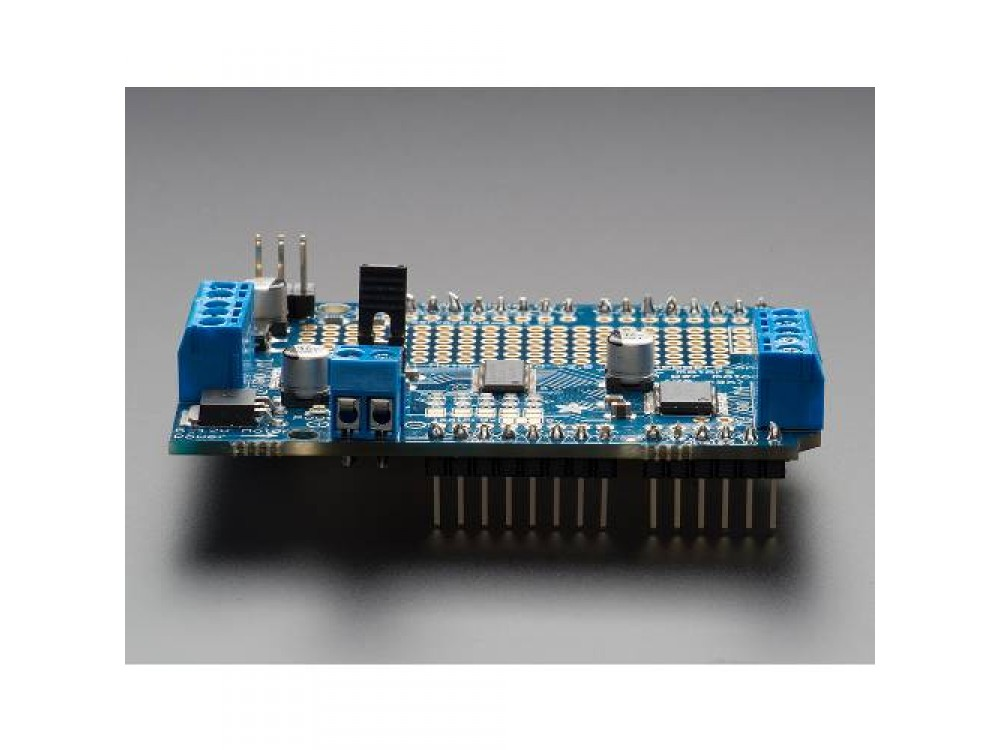 ... Adafruit Motor Shield (DC, Stepper, Servo) for Arduino v2 Kit