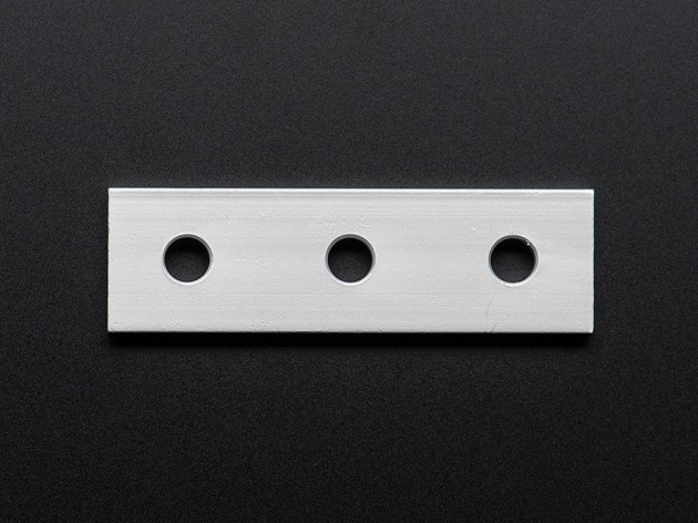 Coupling Plate 3 holes 20mm x 20mm extrusion