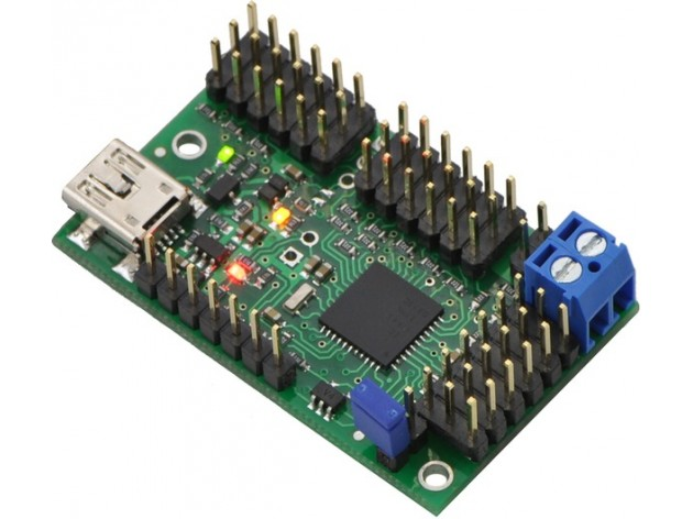 Pololu Mini Maestro 18-channel USB Micro Controller (Assembled)