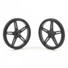Pololu Wheel 70x8 mm Pair Black