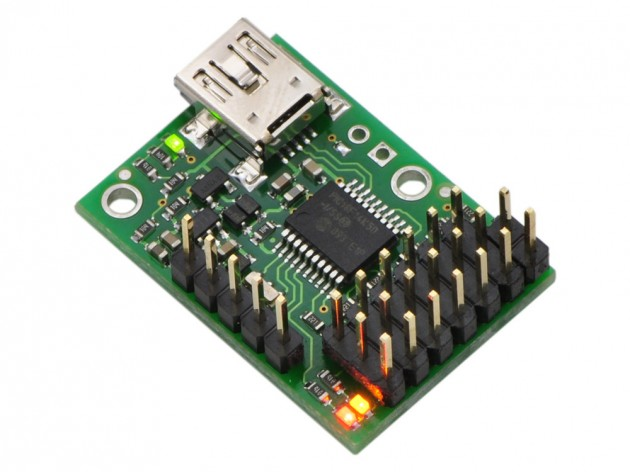 Pololu Micro Maestro 6-channel USB Micro Controller (Assembled)